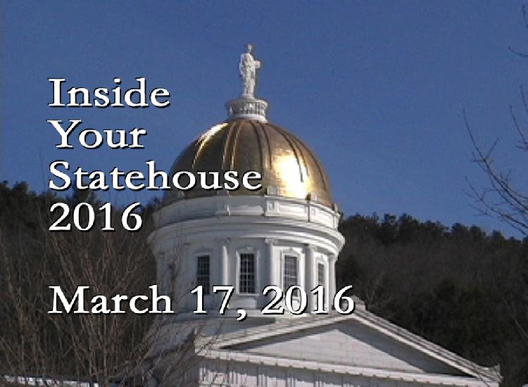 Inside Your Statehouse 2016 March 17, 2016