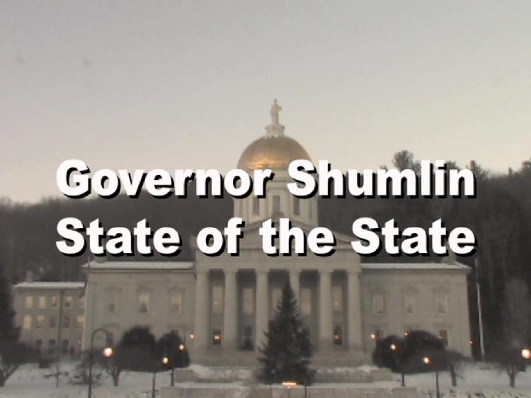 Vermont Governor Peter Shumlin State of the State Address 2016