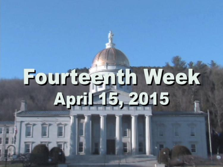 Under The Golden Dome 2015 Week 14  Fourteenth week of the 2015 Vermont legislative session April 15, 2015. State House Info � Lincoln Marble Bust. Interview segments with Sen. Phil Baruth, Rep. Anne Donahue, Rep. Kurt Wright, Rep. Michael Yantachka, Rep. Jill Kowinski, Rep. Stephen Carr View at https://vimeopro.com/vtvt/underthegoldendome2015/video/125127226