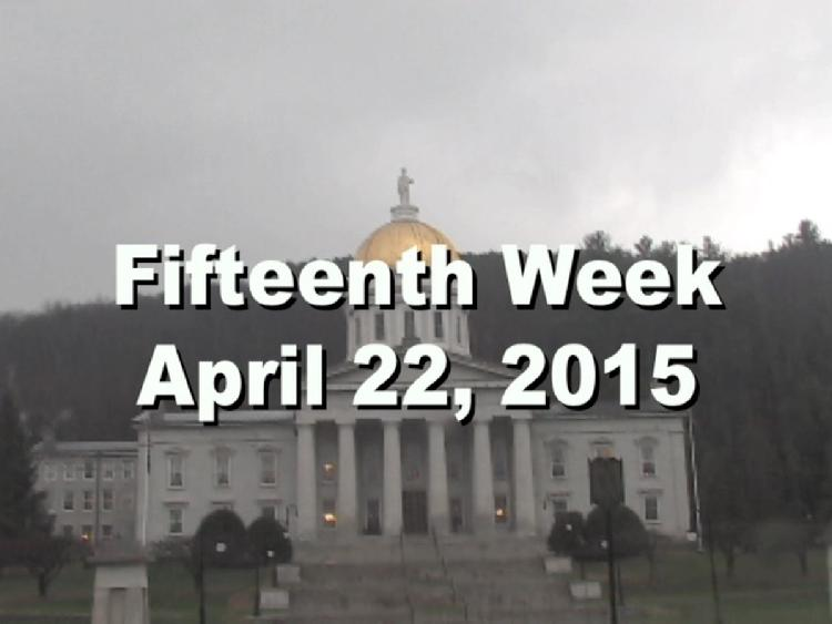 Under The Golden Dome 2015 Week 15  Fifteenth week of the 2015 Vermont legislative session April 22, 2015. State House Info � Lt. Gov. David Camp�s Portrait. Interview segments with Vermont Governor Peter Shumlin, Rep. Diane Lanpher, Sen. Dick McCormack, Rep. Kiah Morris, Sen. Jeanette White, Sen. Michael Sirotkin View at https://vimeopro.com/vtvt/underthegoldendome2015/video/125759300