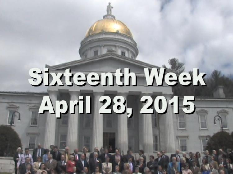 Under The Golden Dome 2015 Week 16  Sixteenth week of the 2015 Vermont legislative session April 28, 2015. State House Info � House of Representatives Group Photos from 1917, 1933, 1965 and 2015. Interview segments with Sen. Peg Flory, Rep. Topper McFaun, Rep. Butch Shaw, Sen. Joe Benning, Rep. Marcia Martel, Rep. Vicki Strong, Rep. Mark Higley, Rep. Bernie Juskiewicz, Rep. Larry Cupoli, Rep. Robert LaClair View at https://vimeopro.com/vtvt/underthegoldendome2015/video/126333903