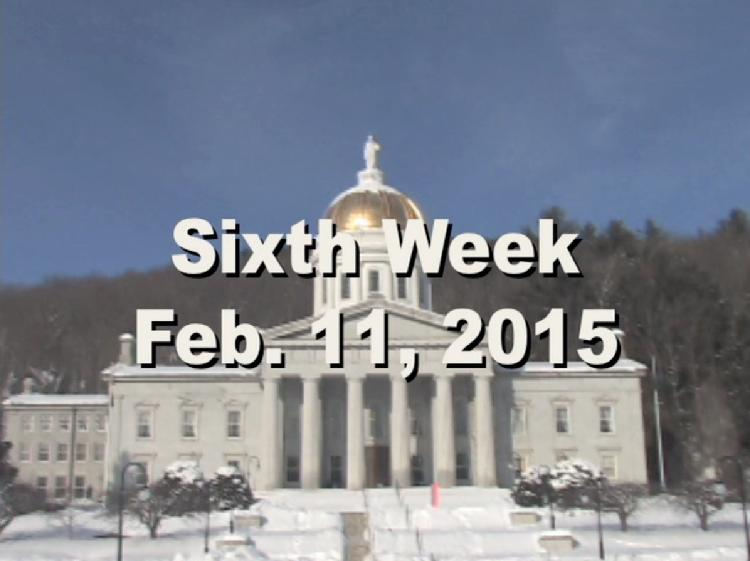 Under The Golden Dome 2015 Week 6  Sixth week of the 2015 Vermont legislative session Feb. 11, 2015. State House Info � James Gilman Painting  of Montpelier Landscape with Red Domed State House. Interview segments with Rep, Bob Helm, Rep. Chris Pearson, Rep. Don Turner, Rep. Anne Donahue, Sen. Dick McCormack, Rep. Tim Jerman, Sen. Rich Westman, Rep. Joey Purvis, Rep. Doug Gage. View at https://vimeopro.com/vtvt/underthegoldendome2015/video/119407874