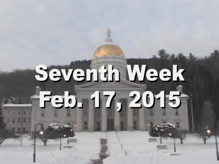 Under The Golden Dome 2015 Week 7  Seventh week of the 2015 Vermont legislative session Feb. 17, 2015. State House Info � James Gilman Portraits of Governor Fletcher. Interview segments with Rep. Scott Beck, Rep. Martin LaLonde, Sen. Bill Doyle, Rep. Dave Sharpe, Sen. Claire Ayer, Sen. Phil Baruth, Rep. Barbara Rachelson, Rep. Kiah Morris View at https://vimeopro.com/vtvt/underthegoldendome2015/video/119916846