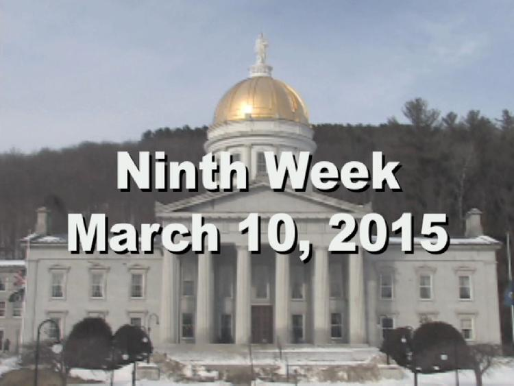 Under The Golden Dome 2015 Week 9  Ninth week of the 2015 Vermont legislative session March 10, 2015. State House Info � Portrait of Governor F. Ray Keyser, Jr. Interview segments with Sen. Claire Ayer, Sen. Jeanette White, Rep. Carolyn Branagan, Rep. Janssen Willhoit, Rep. Tom Stevens, Sen. Dick McCormack, Sen. Joe Benning, Rep. Rebecca Ellis, Rep. Brian Savage View at https://vimeopro.com/vtvt/underthegoldendome2015/video/121991962